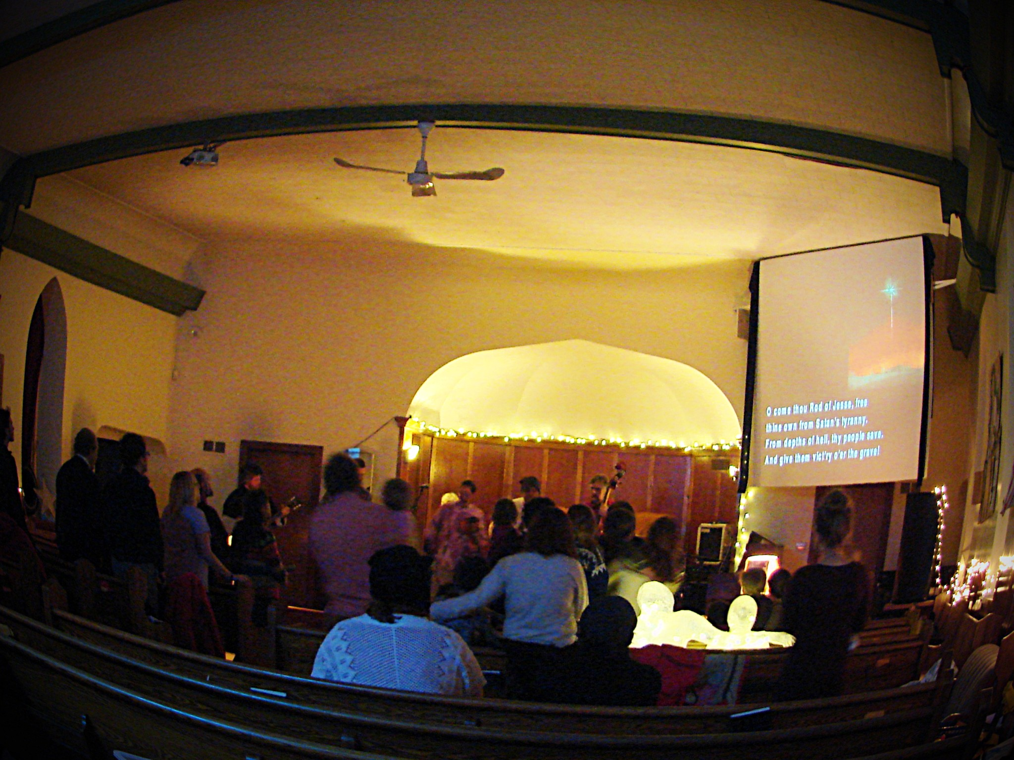 Photo of a nextChurch Service