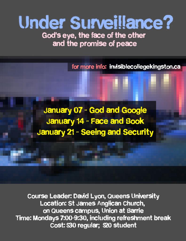 Poster for Invisible College Seminars