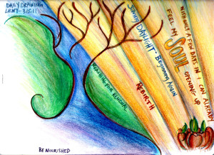 Drawing About Spring, Lent and Renewal