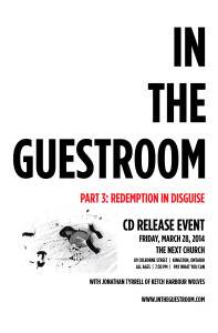 """In the Guestroom"" CD Release Poster"