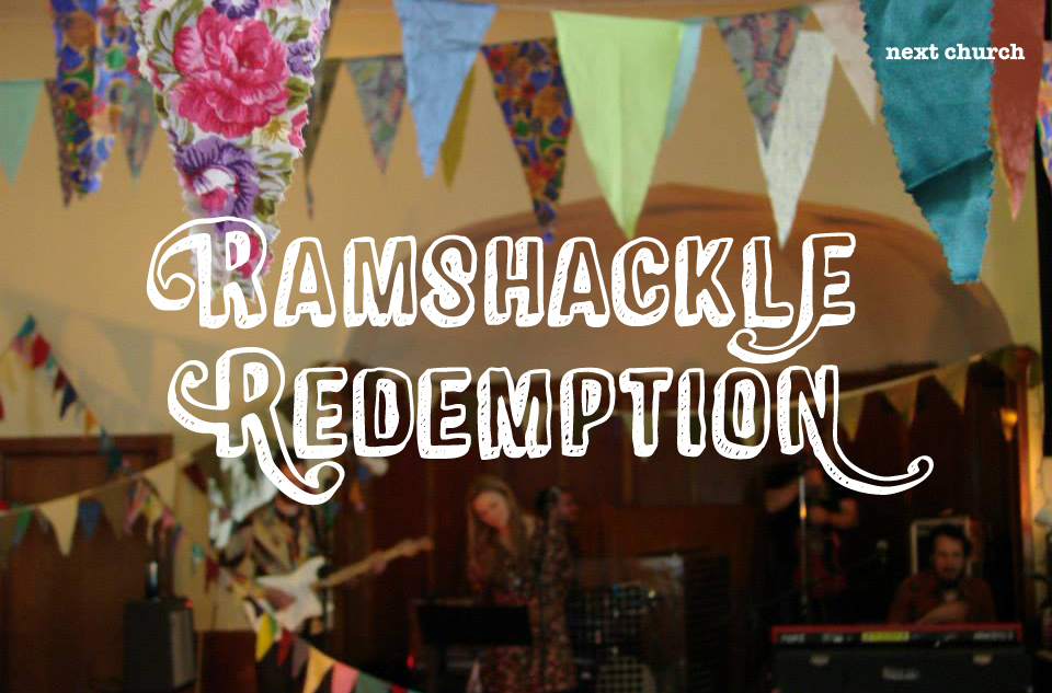 Poster for the Ramshackle Redemption Recording Project